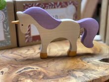 Load image into Gallery viewer, Big Wooden Unicorn