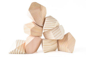 Natural | 8 Set of Rock Blocks - Things They Love