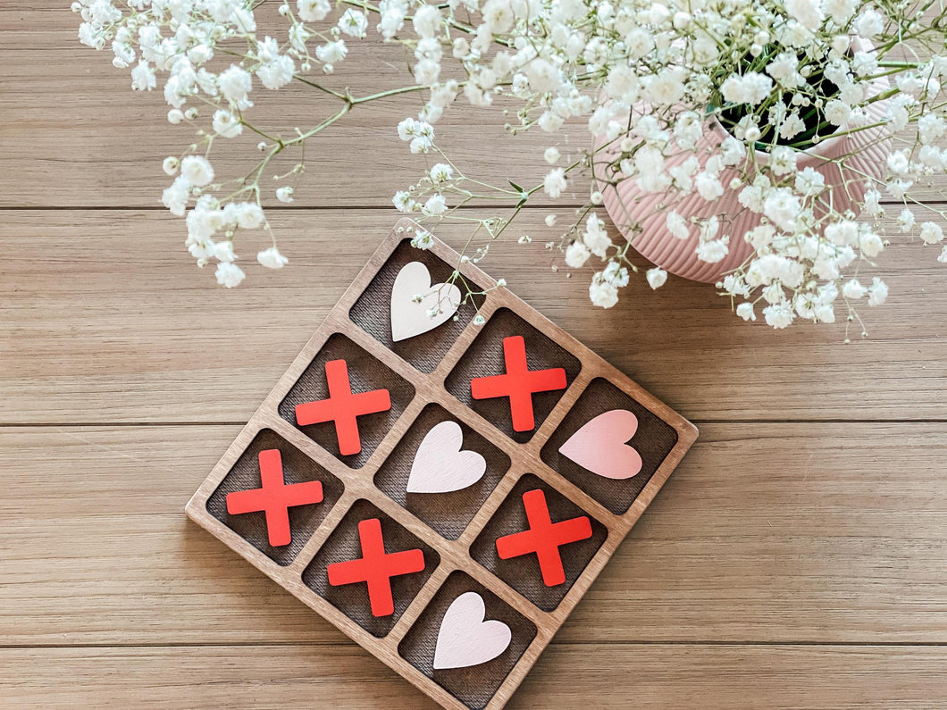 Valentines Day + Christmas  Tic-Tac-Toe