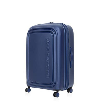Mandarina Duck LOGODUCK+ LARGE TROLLEY ESPANDIBILE, Valigia Grande, Rigida, 75x49x31 cm, Colore Estate Blu