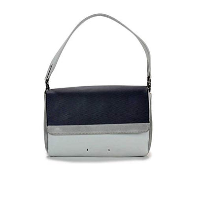 Mandarina Duck Forma shoulder bag with flap P10TXT08 Pearl