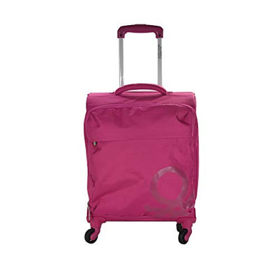 BENETTON CABIN TROLLEY 4 WHEELS FUXIA F48