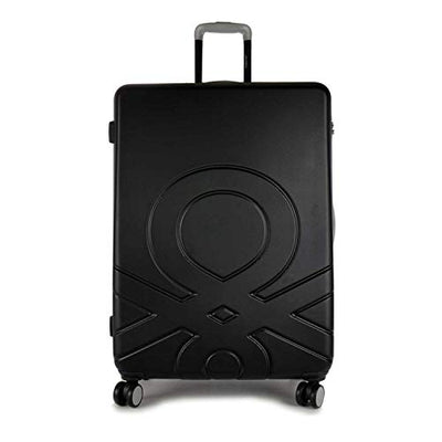 BENETTON BIG TROLLEY 4 WHEELS BLACK C12
