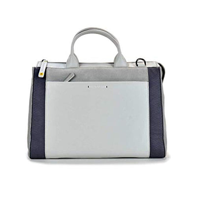 Mandarina Duck Forma shopping bag P10TXT03 Pearl