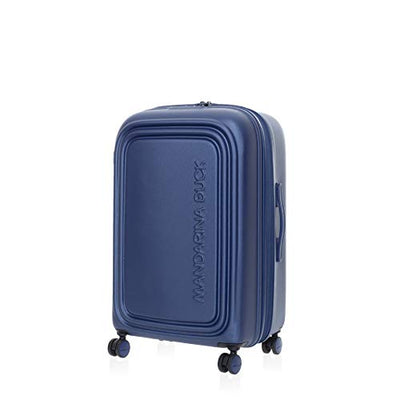 Mandarina Duck LOGODUCK+ MEDIUM TROLLEY ESPANDIBILE, Valigia Rigida, 69x45x32cm, Colore Estate Blue