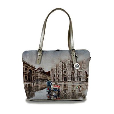 YNOT? YES-377F0 MILANO RACE SHOPPING BAG
