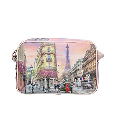 YNOT? BORSE YES-440S0 PARIS SPRING-PINK ROSA