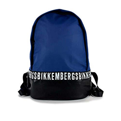 Bikkembergs Mix Backpack E91PME190055B16 Nero/Blue