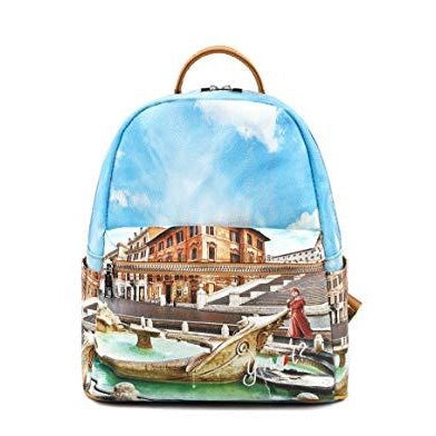 YNOT BACKPACK MEDIUM YES-381S0 ROME FOUNTAIN