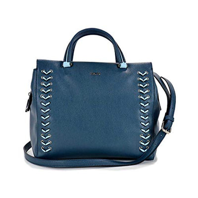 Gaudi TOP HANDLE BAG - linea GLENDA - CV9E-71091-AZUL - cm.29x15x15