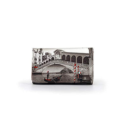 YNOT LONG WALLET YES-364S0 VENICE BRIDGE