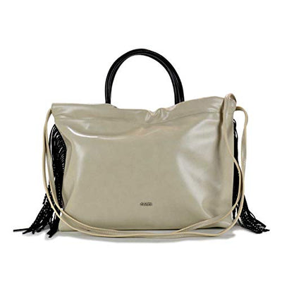 Gaudi SHOPPING GAIA FRINGES CV9E-71188-ICE cm.38x30x14