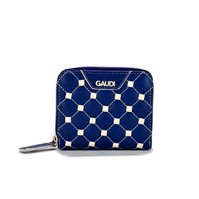 Gaudi SMALL LONG ZIP ERA VALENTINE CV9E-71154-BLUE cm.11,30x9,50x3