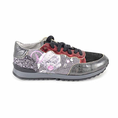YNOT - Scarpe Donna Sneakers - Stampa New York Mappy