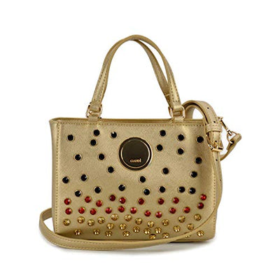 Gaudi MINI BAG linea GHITA CV9E-71061-GOLD cm.21x15,5x9