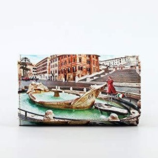 YNOT LONG WALLET YES-347S0 ROME FOUNTAIN