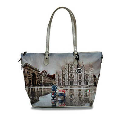 YNOT? SHOPPING BAG YES-397F0 MILANO RACE