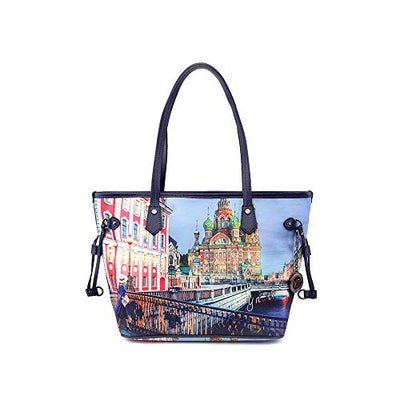 YNOT Borsa Donna Shopping Instant | YES336F0-Moscow-Colorful Mosc
