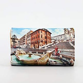 YNOT LONG WALLET YES-364S0 ROME FOUNTAIN