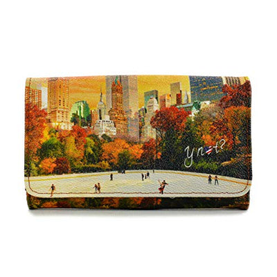YNOT? YES-347F0CENTRAL PARKLONG WALLET