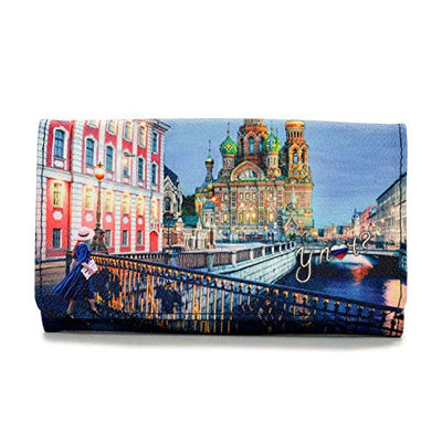 YNOT? YES-347 F0 COLORFUL MOSCOW LONG WALLET
