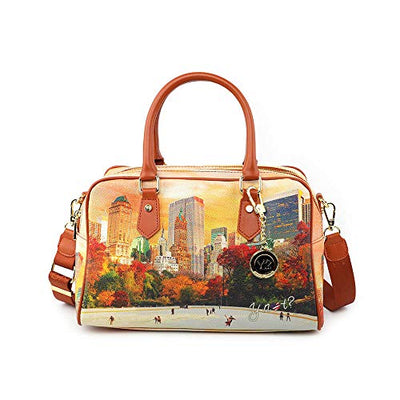 YNOT YES-411F0 BAULETTO Donna STAMPA NEW YORK CENTRAL PARK