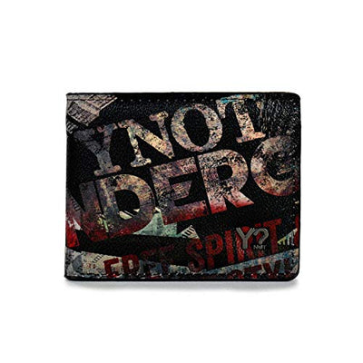 YNOT? WALLET MAN UND-467F0 BLACK