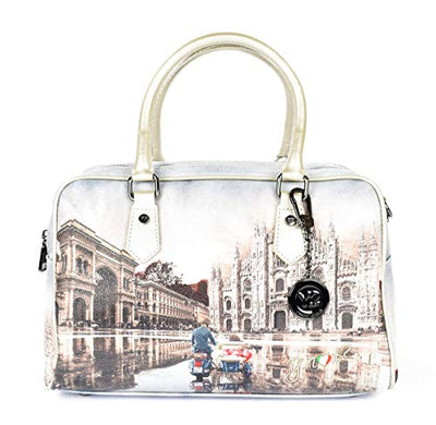 YNOT Borsa Boston Bag 411 Milano Race
