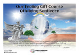 Our Feeling Gift Course: Attaining Sentience