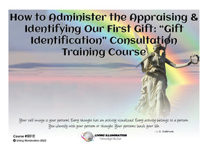 "How to Administer the ""Gift Identification"" Consultation - Training Course (#501E)"