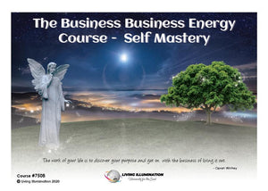 The Business Business Energy Course - Self-Mastery (#750B)