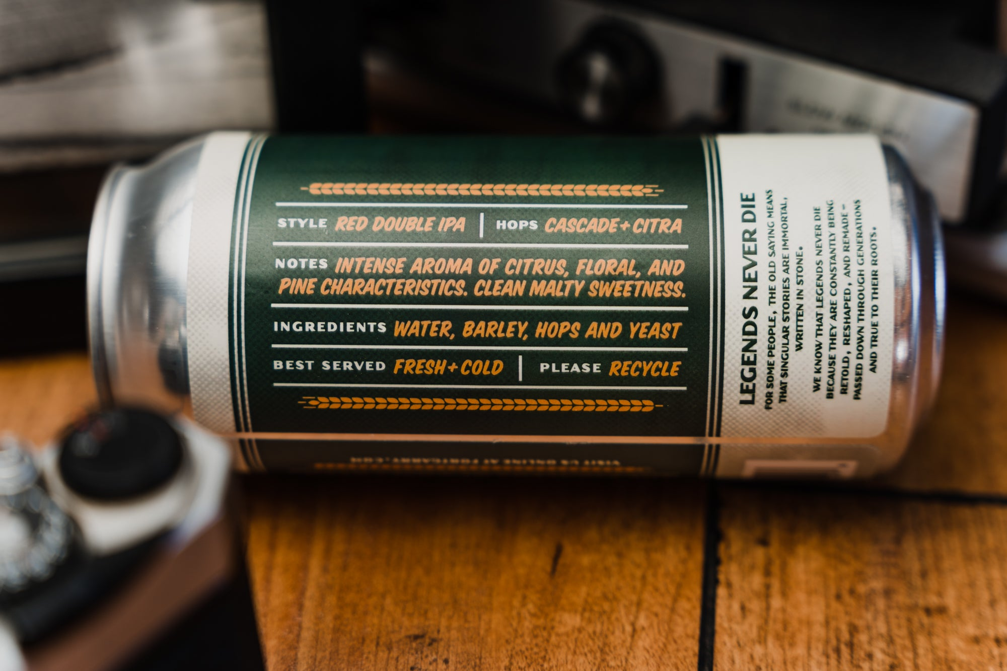 Hoeschen's Eleven can. Tasting notes.
