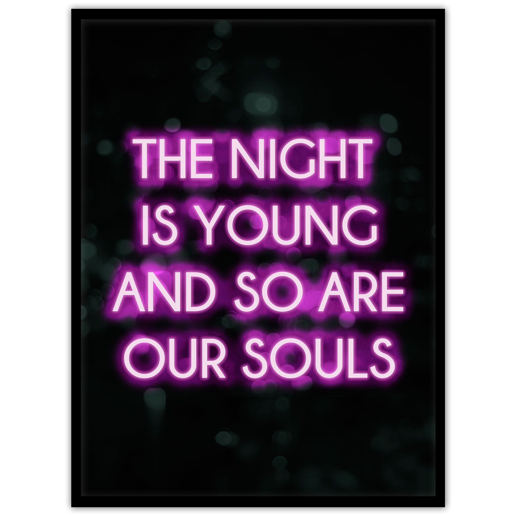 Neon: The night is young - Studio Caro-lines