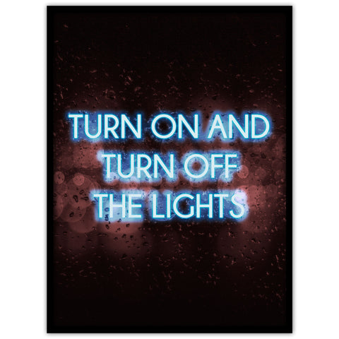 Neon: turn on the lights - Studio Caro-lines