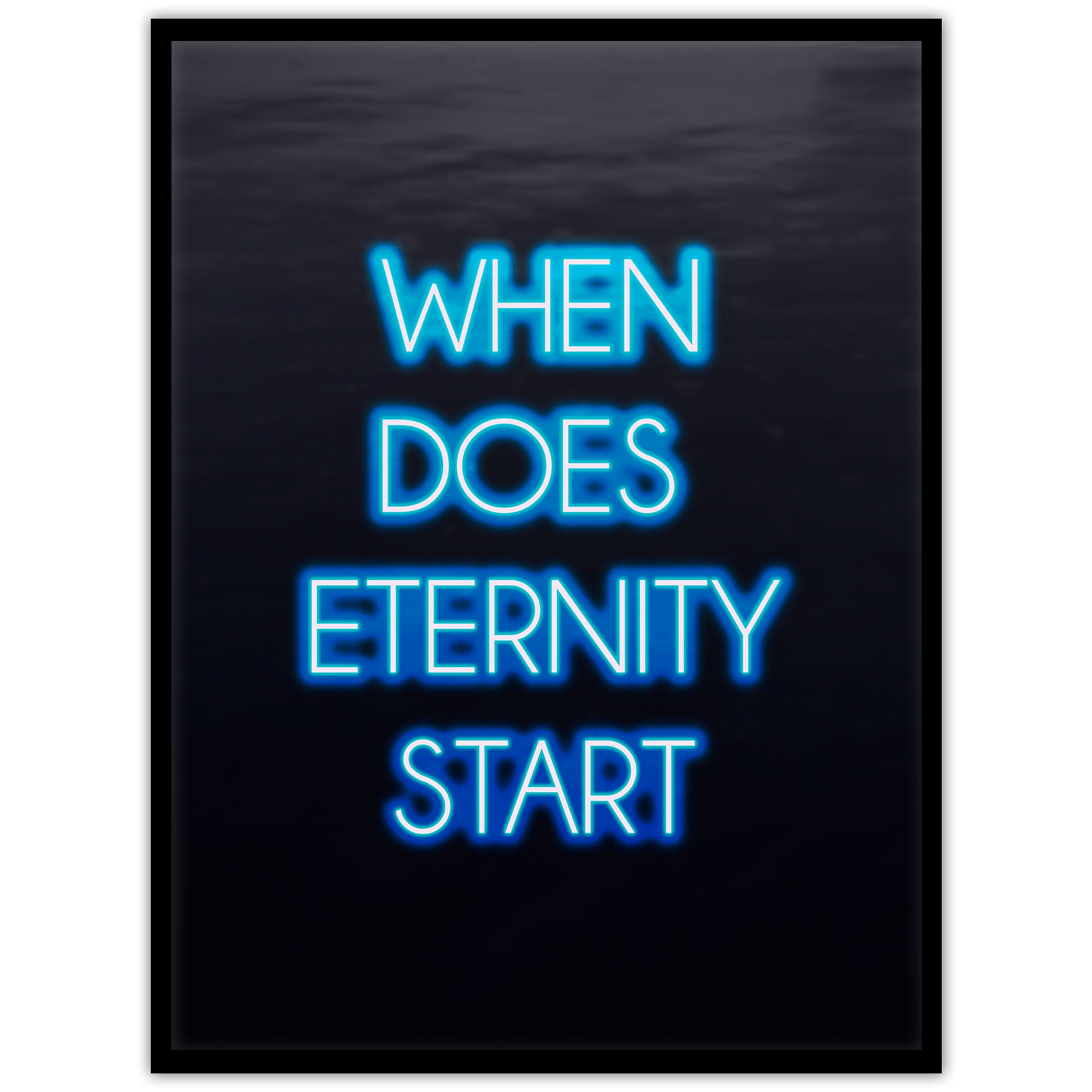 Neon: When does eternity start? - Studio Caro-lines