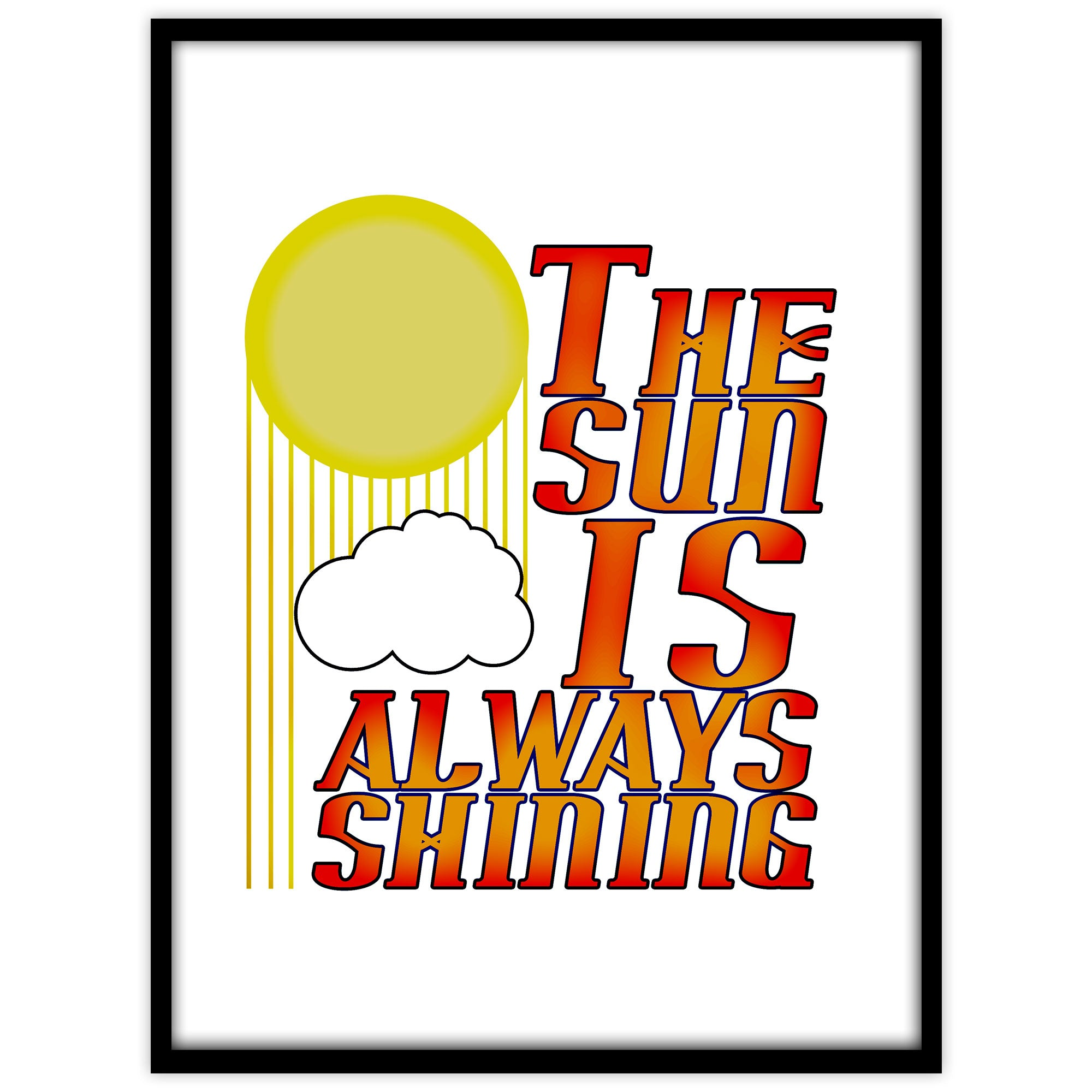 The sun is always shining - Studio Caro-lines