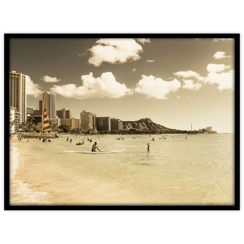 Waikiki Honolulu Oahu Hawaii - Studio Caro-lines