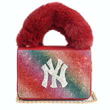 Load image into Gallery viewer, NY Furry Handle Purses