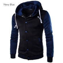 Load image into Gallery viewer, Mens Slim Fit College Varsity Jacket