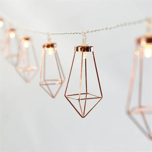 Modern-Decor String Lights 💡