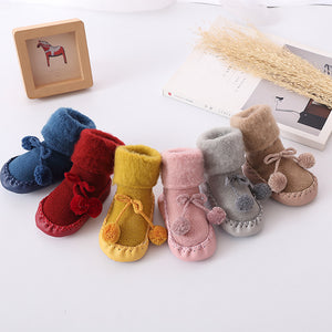 Winter Wonderland Baby Booties
