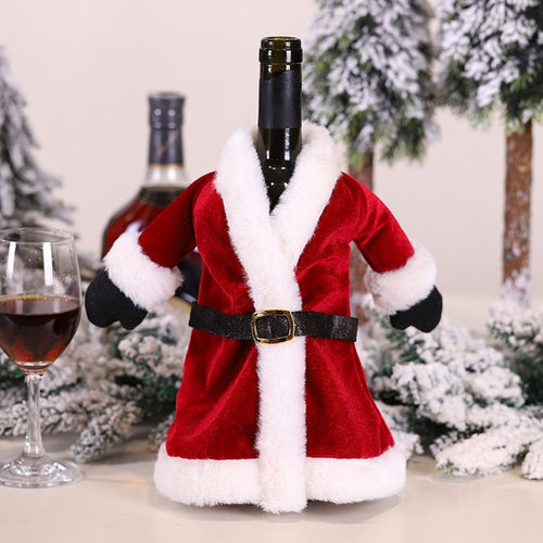 Santa's Wine Bottle Suit