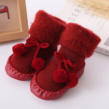 Load image into Gallery viewer, Winter Wonderland Baby Booties