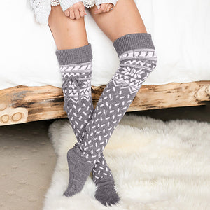 Winter Wonderland Thick-Knit Socks ❄️