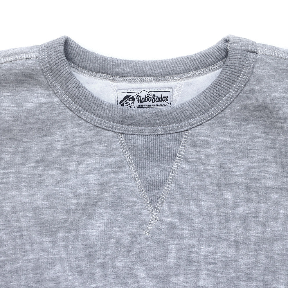 Sweatshirt. Basic. Grey Melange