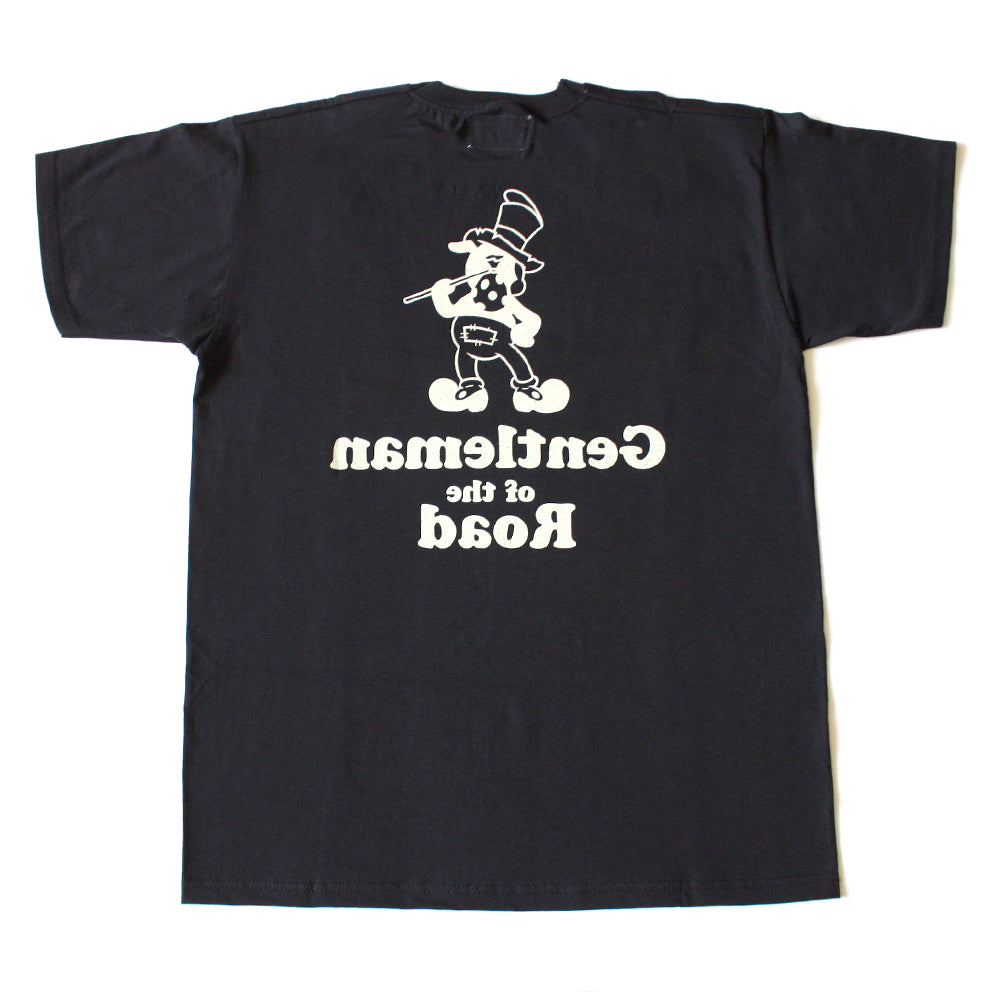 T-shirt. Gentleman of the Road. Black