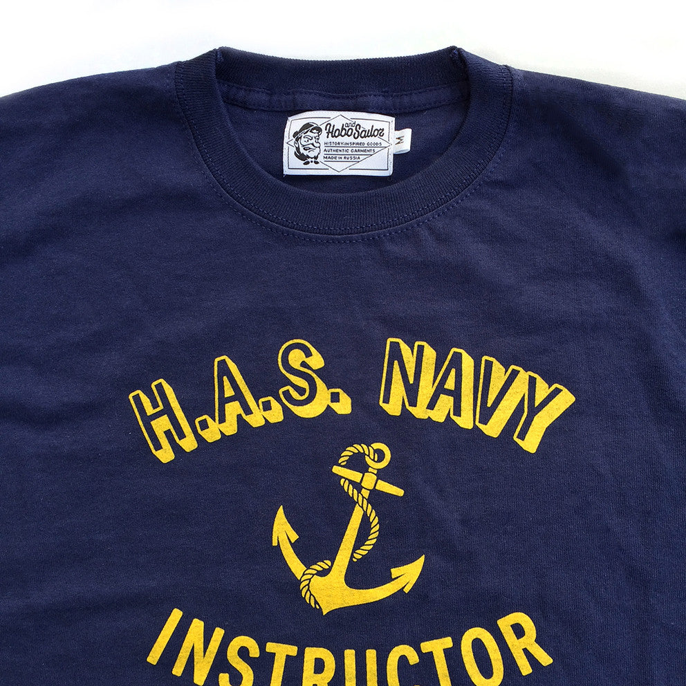 T-shirt. Navy Instructor