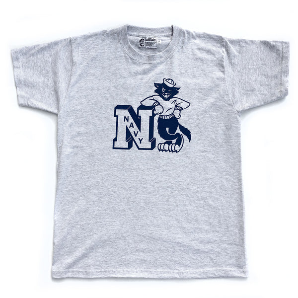 T-shirt. Navy Tomcat