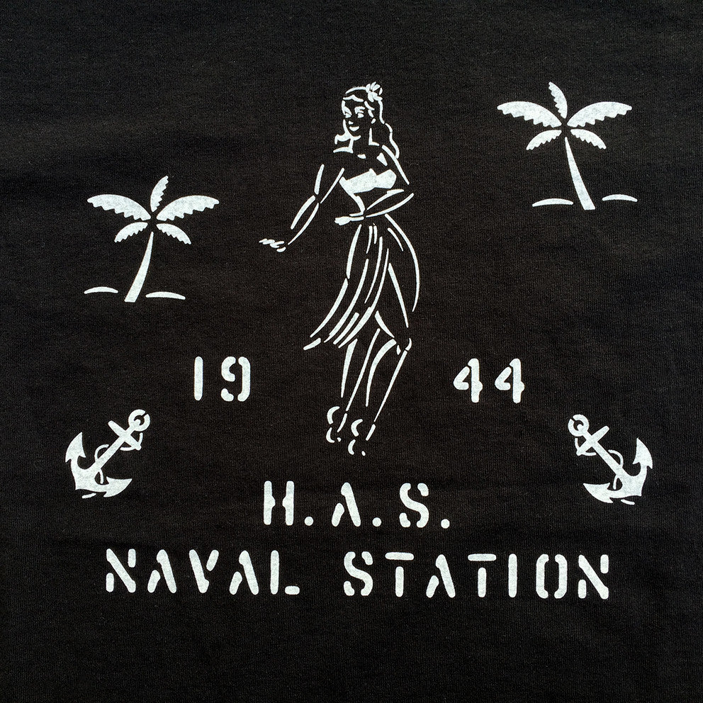 T-shirt. H.A.S. Naval Station