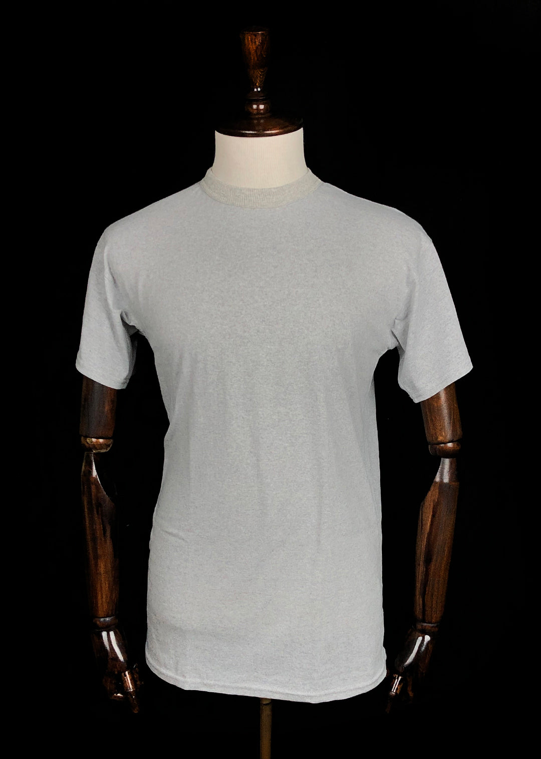 Basic T-shirt. Melange Grey